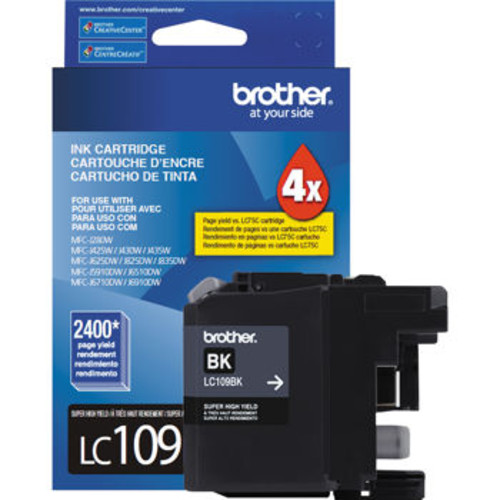 Brother LC109BK High-Yield Ink Cartridge Black
