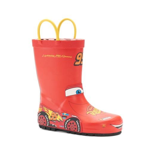 Western Chief Disney / Pixar Cars Lightning McQueen Toddler Waterproof Rain Boots