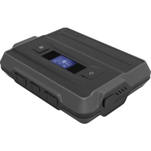 myCharge - Adventure Ultra 13,400 mAh Portable Charger for Most USB-Enabled Devices - Black