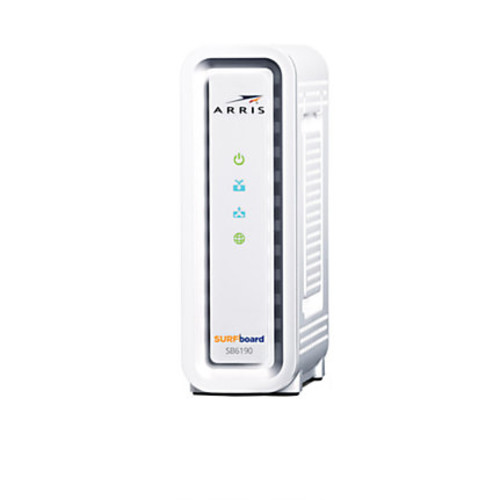 ARRIS SURFboard SB6190 DOCSIS 3.0 Cable Modem And SURFboard SBR-AC3200P Wireless Router, 20005