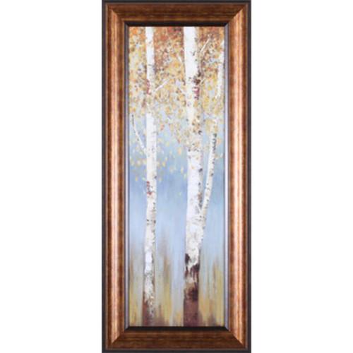 Art Effects Butterscotch Birch Trees II Framed Wall Art
