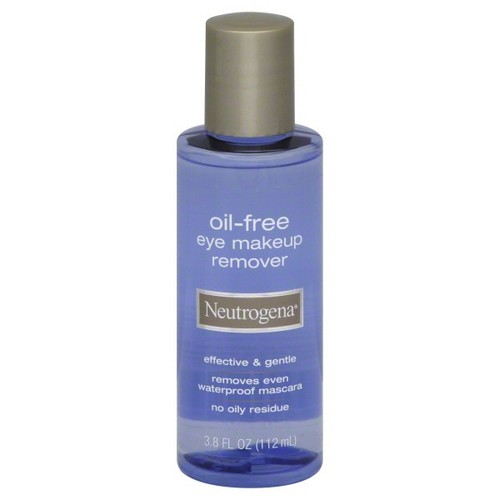 Neutrogena Eye Makeup Remover, Oil-Free, 3.8 fl oz (112 ml)