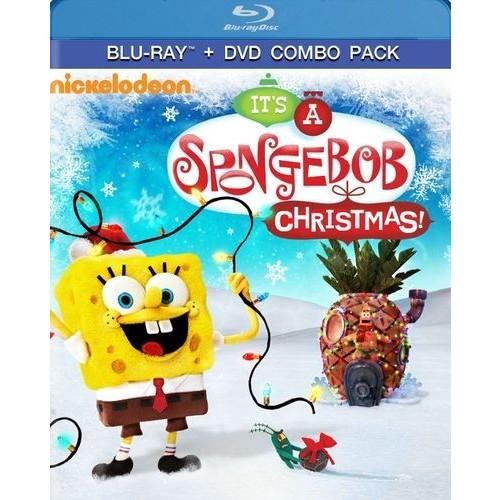 SpongeBob SquarePants: It's A SpongeBob SquarePants Christmas! [Blu-Ray] [DVD] [Digital Copy]