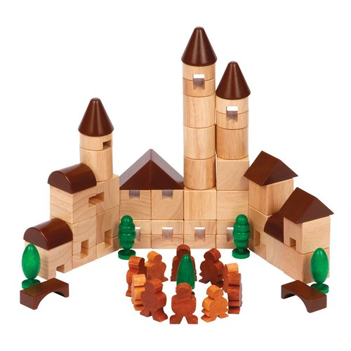 Guidecraft City Blocks Building Kit [Multicolor, None]