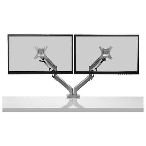 Kanto - Dual-Monitor Mount for Most 17