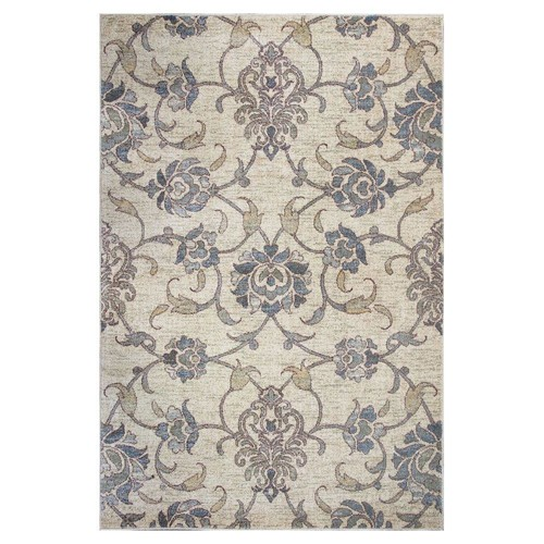 Kas Rugs Willowdale Ivory 3 ft. 3 in. x 4 ft. 11 in. Area Rug