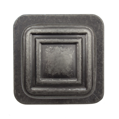 GlideRite 1.375-inch Aged Pewter Square Industrial Cabinet Knobs (Pack of 10 or 25) [option : Aged Pewter - Pack of 10]