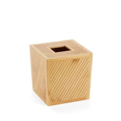 Spa Bamboo Tissue Holder