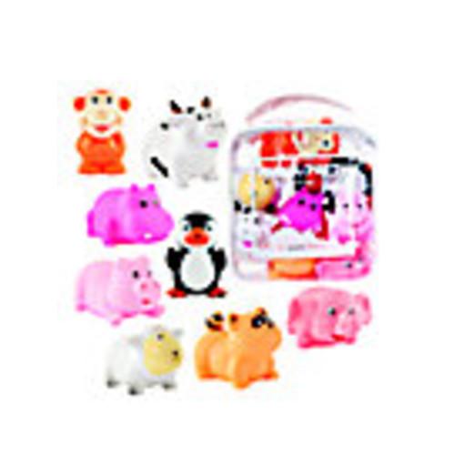 Six-Piece Animal Squirties Bath Toys