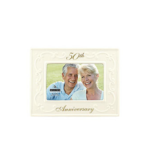 Malden 50th Wedding Anniversary 4x6 Frame