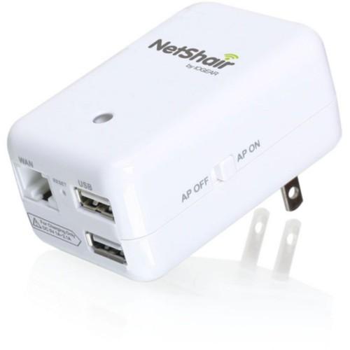 NetShair Link Portable Wi-Fi Router & USB Media Hub