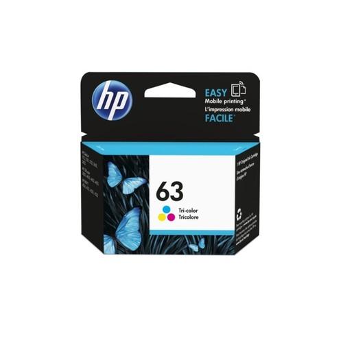 HP 63 Tri-Color Ink Cartridge (F6U61AN)