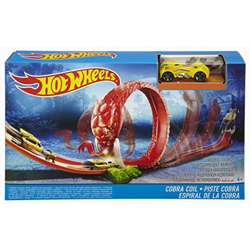 Hot Wheels Cobra Coil Track Set