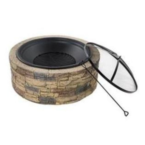 Snow Joe 35 Cast Stone Fire Pit
