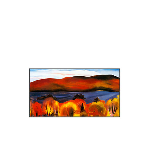 Art.com Lake George, Autumn, 1927 Mounted Print - Online Only