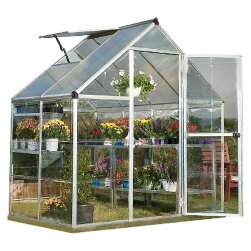 Palram Nature Greenhouse - Silver (6 x 4 x 7)