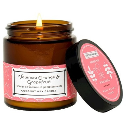 Small Jar Candle Grapefruit - Pure Plant Home