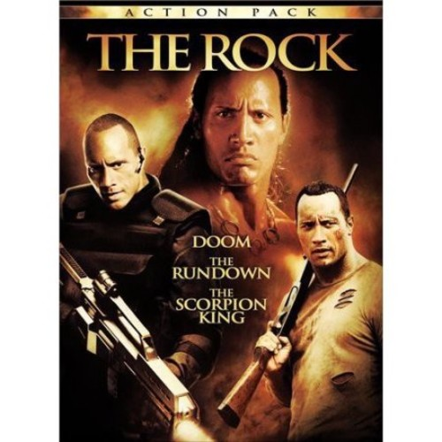 The Rock Action Pack: (Doom / The Rundown / The Scorpion King)