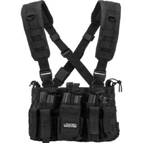 Barska BI12258 VX-400 Customizable Loaded Gear Black Tactical Chest Rig