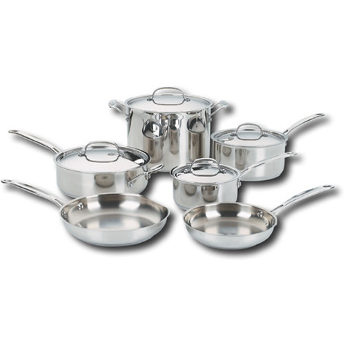 Cuisinart - Chef's Classic 10 Piece Cookware Set