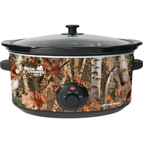 Open Country - 8-Quart Slow Cooker - Woodland Birch