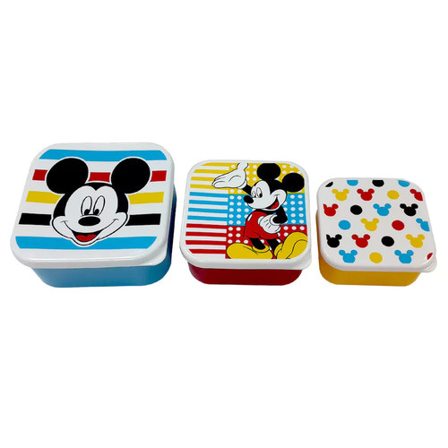 Disney's Mickey Mouse 3-pc. Snack Container Set by Jumping Beans