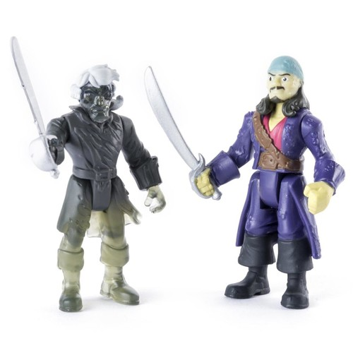 Pirates of the Caribbean: Dead Men Tell No Tales 2-Pack Action Figure - Will Turner vs. Ghost Crewman