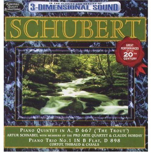 Schubert: Trout Quintet & Piano Trio No 1/Var [CD]