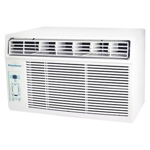 Keystone - 6000-BTU 115V Window-Mounted Air Conditioner with