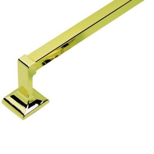 Design House Millbridge 30 in. Towel Bar in Polished Brass
