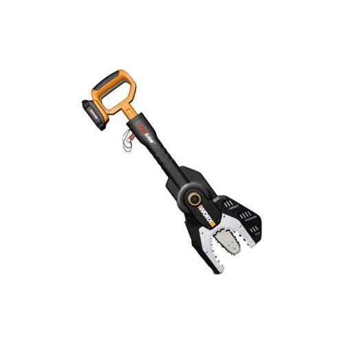 WORX WG320 Max Lithium Cordless Jawsaw Chain Saw, 20-volt, Battery and Charger Included [Battery + Charger Included]