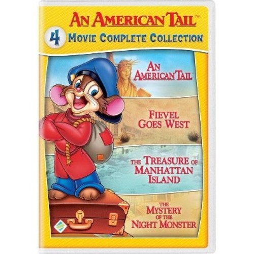 An American Tail: 4 Movie Complete Collection [DVD]