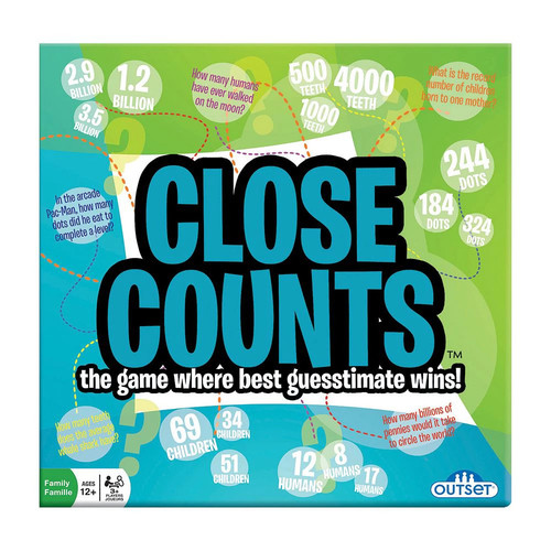 Outset Media Close Counts Party Game