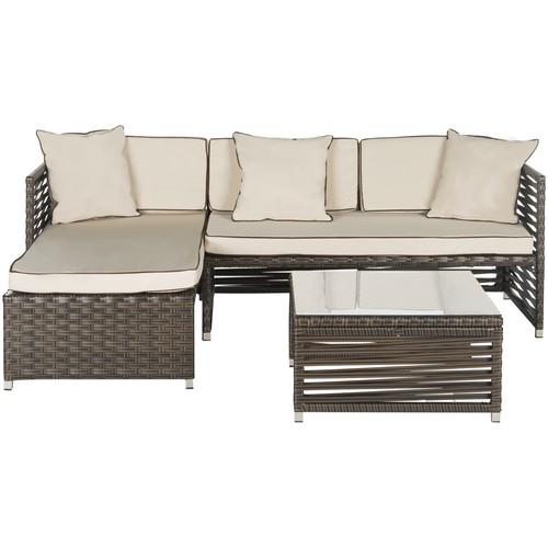 Safavieh Likoma 3pc Outdoor Patio Set