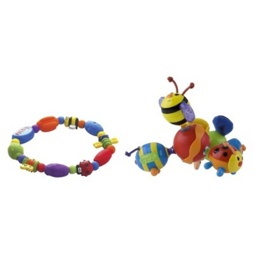 Nuby Teether Set with Bug-a-Loop and Twisty Bugz (2 pack)