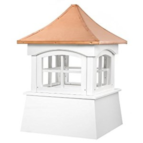 Good Directions Windsor Vinyl Cupola with Copper Roof, 30
