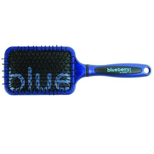 Luxor Pro Blueberry Collection Cushion Paddle Brush, 3.5 Inch