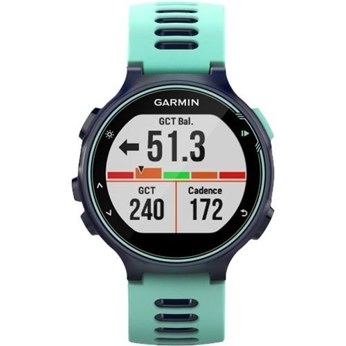 Garmin - Forerunner 735XT Smartwatch - Midnight Blue/Frost Blue