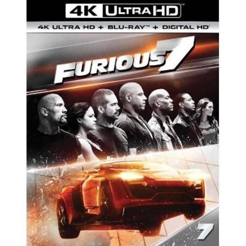 Furious 7 (4K/UHD + Blu-ray + Digital)