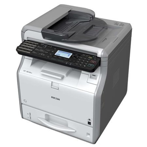 Ricoh SP 3610SF A4 Mono Laser Black and White Multifunction Printer 407305