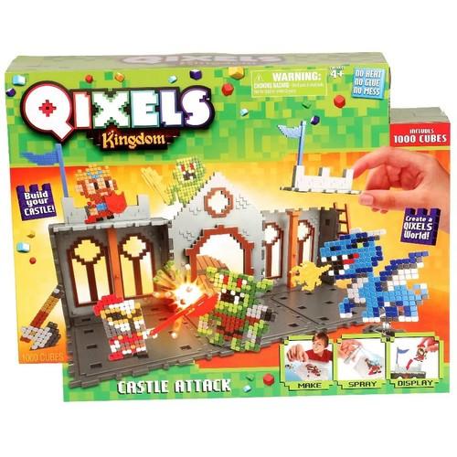 Moose Toys Qixels S3 Kingdom Castle Attack
