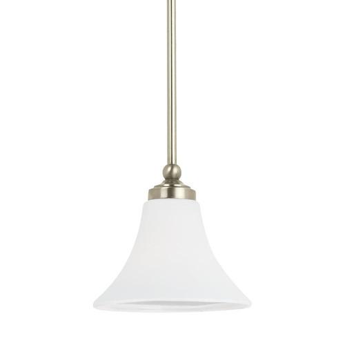 Sea Gull Lighting Montreal 1-Light Antique Brushed Nickel Pendant