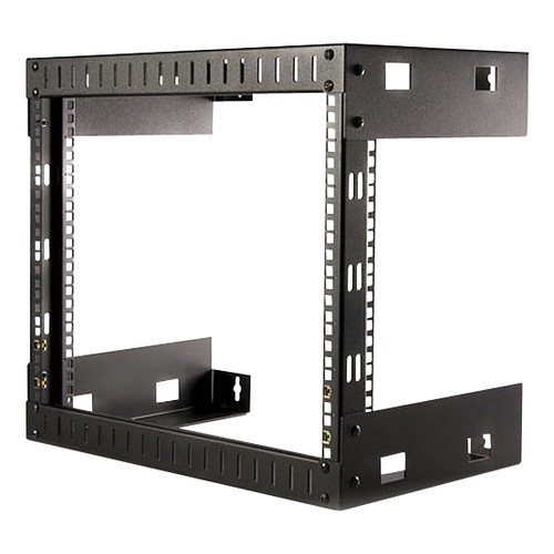 8U Open Frame Wall Mount Rack