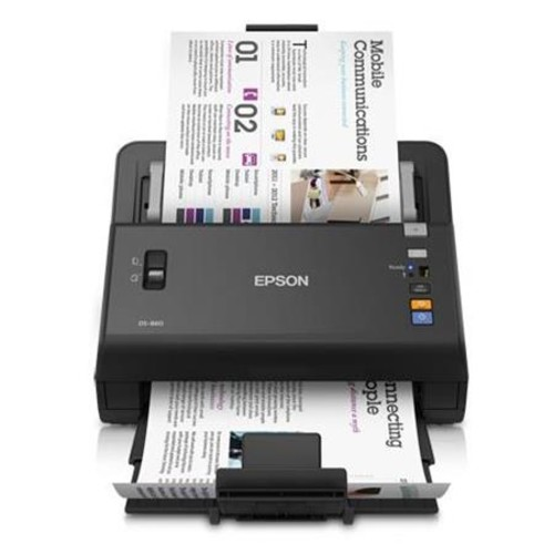 Epson Refurbished WorkForce DS-860 Wireless Color Document Scanner