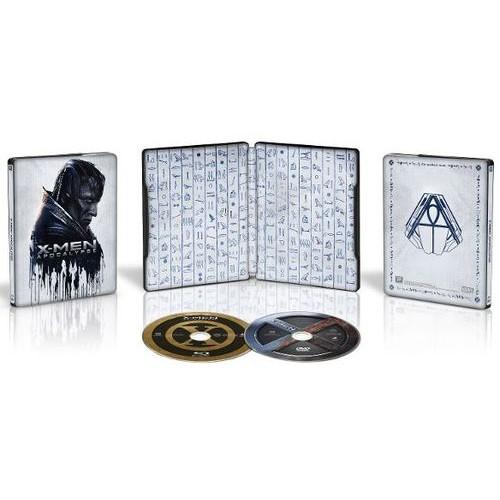 X-Men: Apocalypse [Includes Digital Copy] [Blu-ray/DVD] [SteelBook] [Only @ Best Buy] [2016]