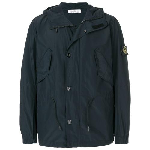 Micro Reps short hooded parka jacket