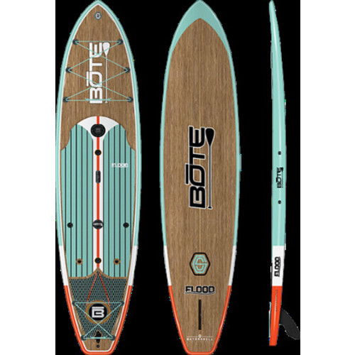 Flood Gatorshell Stand Up Paddle Board with Paddle - 10' 6