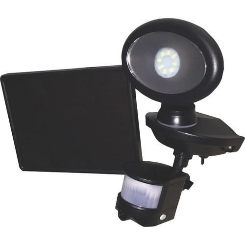 Maxsa Innovations Motion-Activated Solar Security Video Camera with Spotlight  Black, Model# 44643-CAM-BK