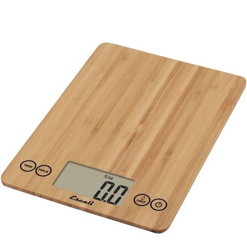 Escali Arti Digital Kitchen Scale Bamboo