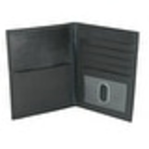 CTM Leather Passport Cover with RFID Protection
